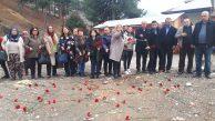 CHP'li kadınlar Aladağ yurt yangınını unutturmayacak