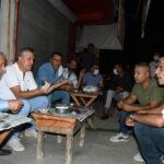 CHP'li Barut ve Sümer, iş bırakan tarım işçileriyle buluştu