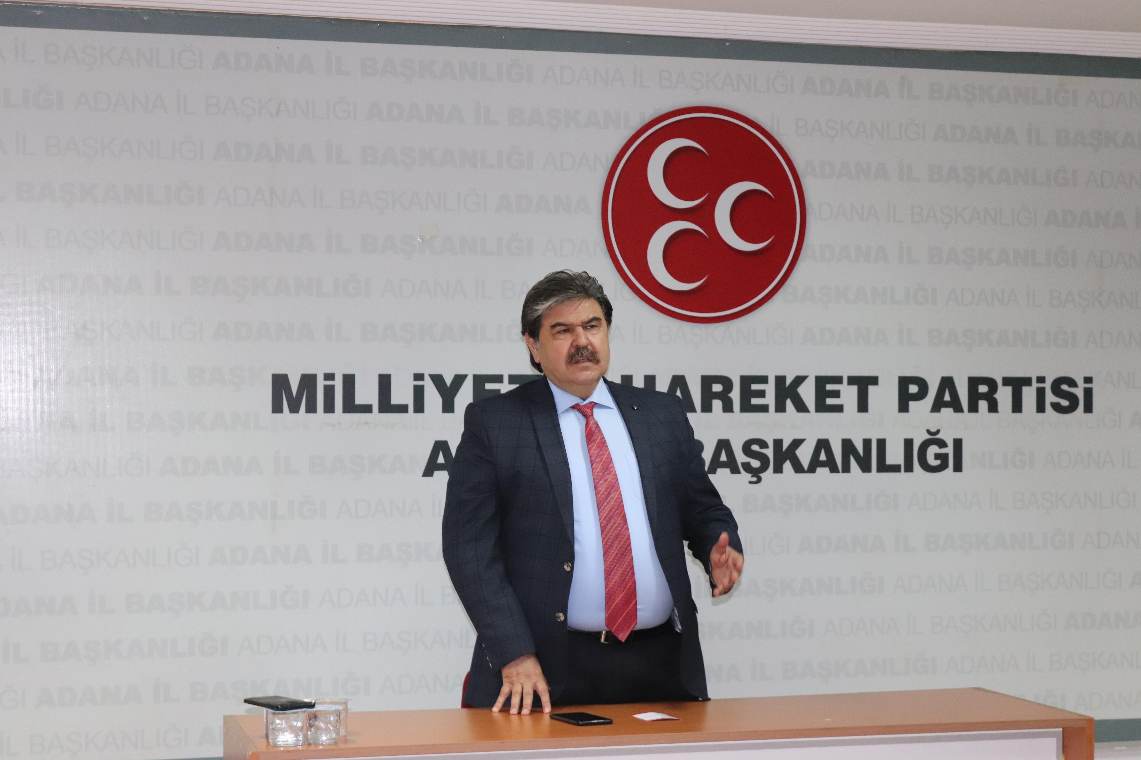 """""""Liderimiz Devlet Bahçeli'nin emrindeyiz!"""""""