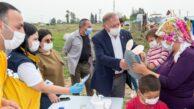 SEYHAN'DA SOSYAL YARDIMLAR 24 SAAT SÜRÜYOR