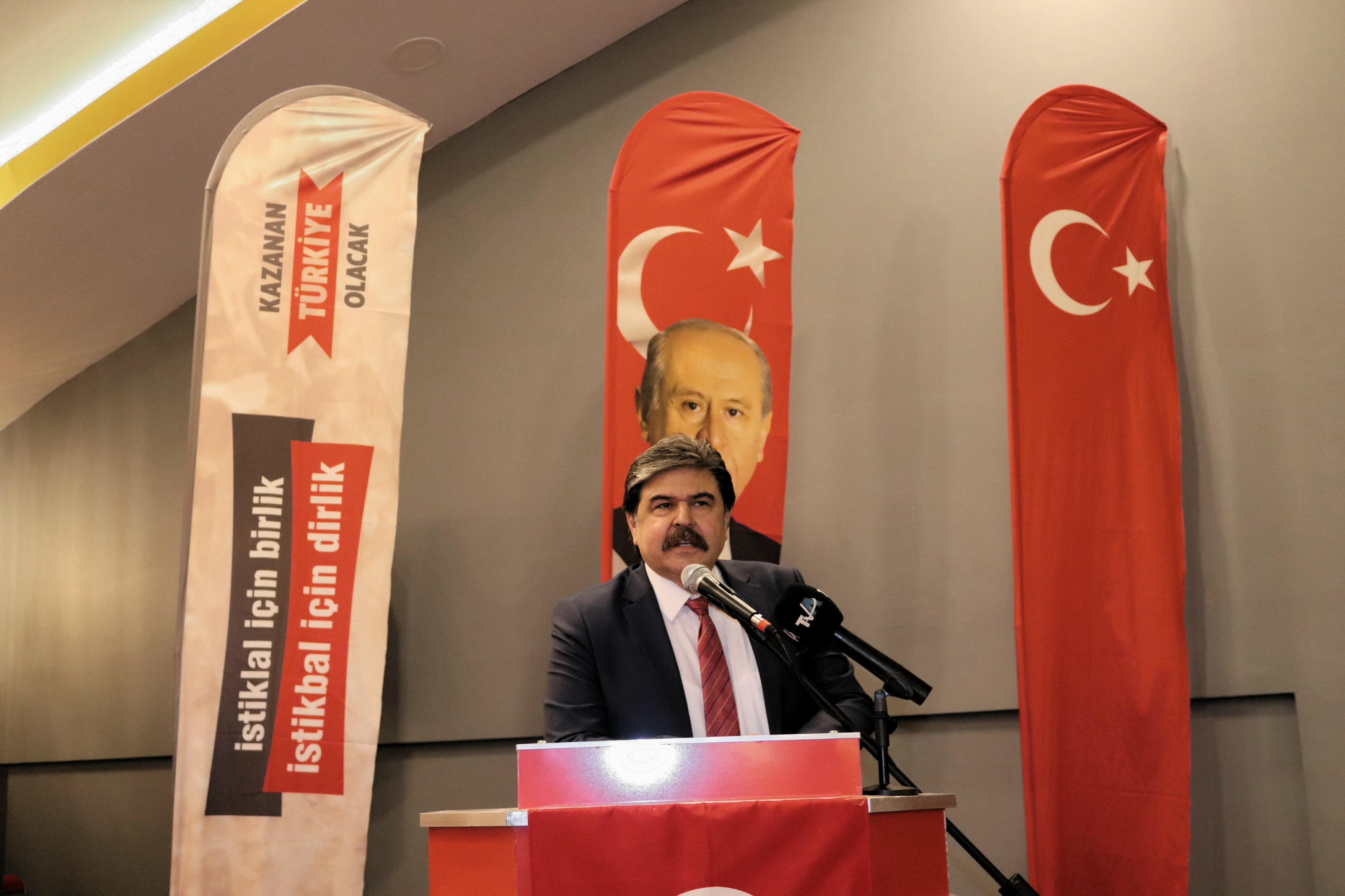 MHP Adana İl Başkanı Bünyamin Avcı'dan bayram mesajı…