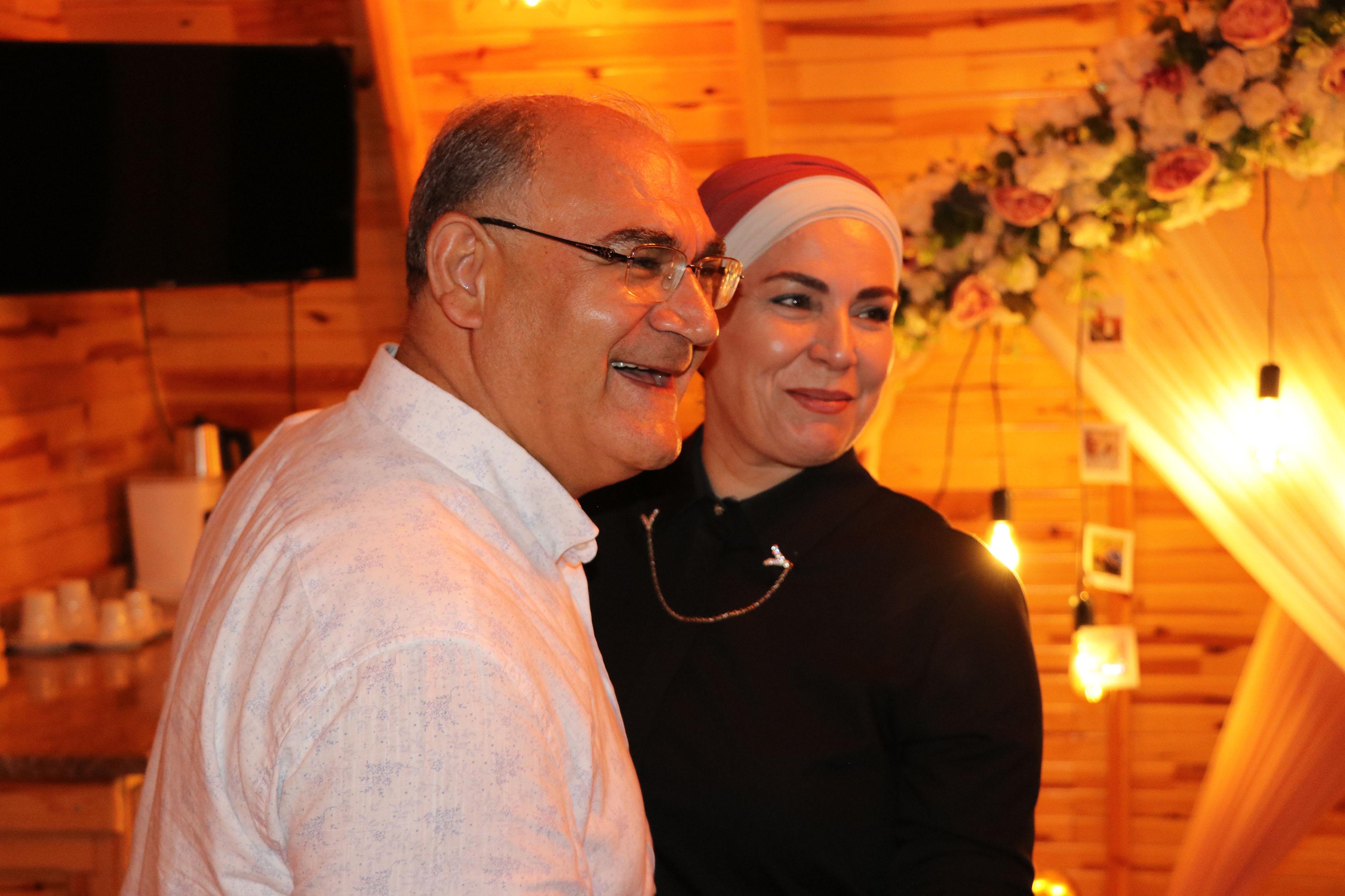 Personelinden Başkan Çay'a evlilik yıldönümü sürprizi