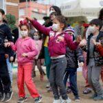 Seyhan'da, çocukların şenlik coşkusu