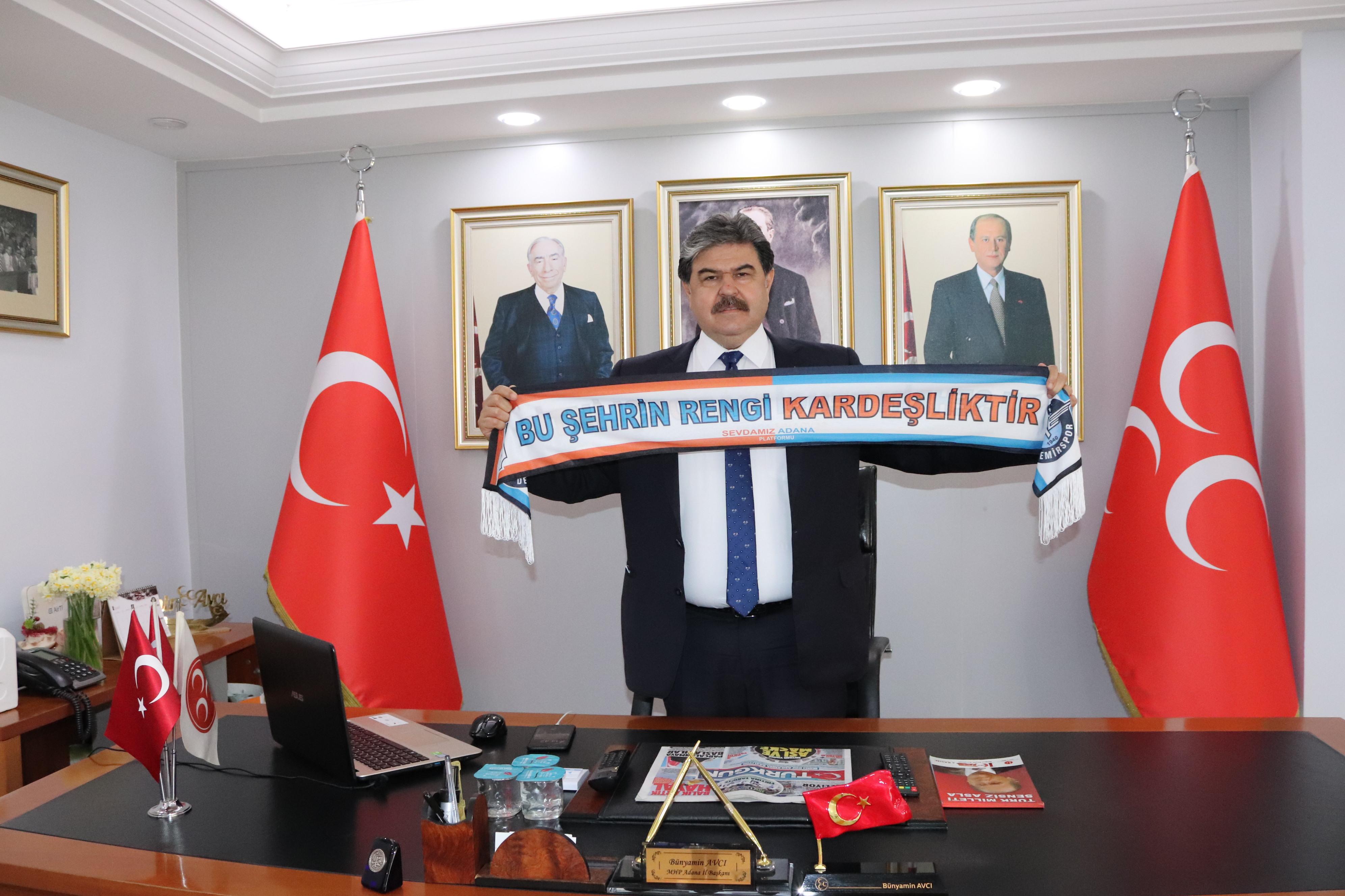 Avcı'dan Adanaspor ve Demirspor'a başarı mesajı!
