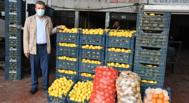 """""""Yüksek enflasyonun suçlusu sebze-meyve değil"""""""